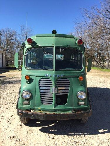 1960 IH Metro Van Gillig Bros. Conversion Coach Bus